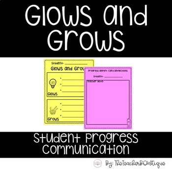 Glows and Grows