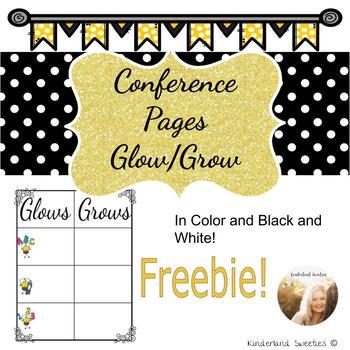 Glows and Grows Freebie!