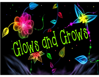Glows and Grows Student Feedback & Accountability Recording Forms