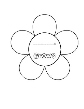 Glows and Grows Template