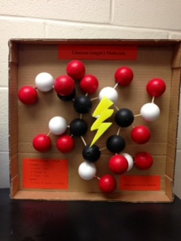 "Glucose ""Sugar"" Molecule Project"
