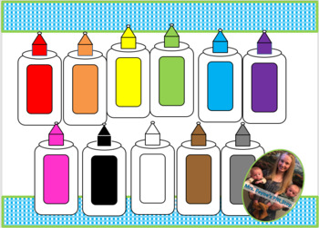 FREE Glue Bottle Clip Art