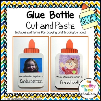 Glue Bottle Cut and Paste