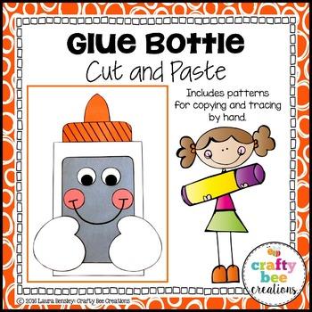 Glue Bottle Cut and Paste