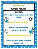 Glue Bottle Number Activities
