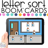 Glue Bottle Theme Letter Sort Boom™ Cards - Distance Learn