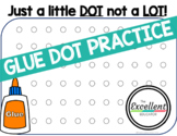 Glue Dot Practice