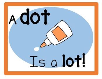 Glue Dot poster