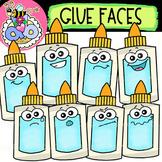 Glue Faces: Back-to-School Clipart {DobiBee Designs}