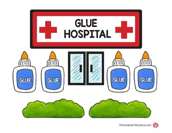 Glue Hospital Labels