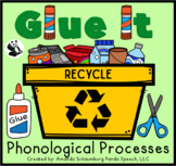 Glue It! Recycling: Phonological Processes NO-PREP Speech Therapy