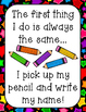 Glue & Pencil Rhyme Printables