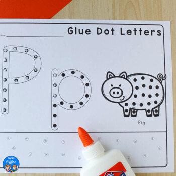 Glue Practice Alphabet Activity