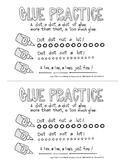 Glue Practice Sheet - PDF Download