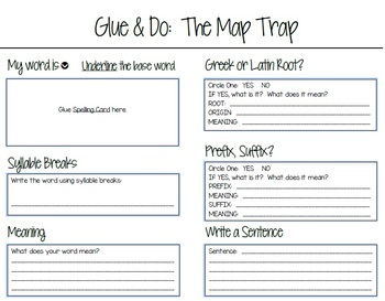 Glue and Do: The Map Trap