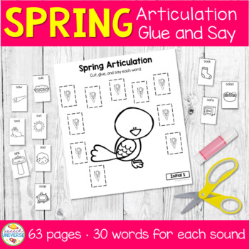 Glue and Say Articulation: Spring