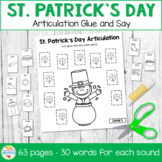 Glue and Say Articulation: St. Patrick's Day