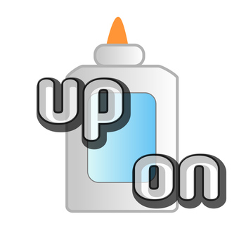 Glue and Sort Sight Words: up, on