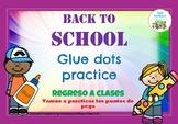 Glue dots practice_Practicamos los puntos de pega