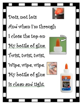 Glue use