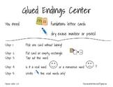 Glued Endings Center Preview