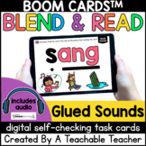Glued Sounds Boom Cards™️   Glued Sounds Blend and Read fo