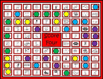 "Glued Sounds Game ""Score Four"""