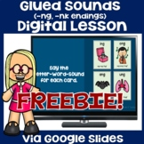 Glued Sounds Distance Learning FREEBIE