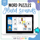 Glued Sounds NG NK - Digital Word Puzzles | Distance Learn