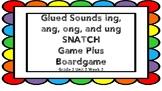 Glued Sounds SNATCH + Board Game Wilson's FUNdations Grade 2 Unit 2 Week 2