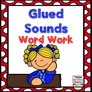 Glued Sounds Word Work