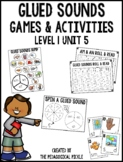 Glued Sounds (am, an, all) Games and Activities (Level 1 Unit 5)