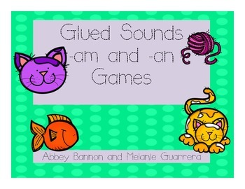Glued Sounds -am and -an Games