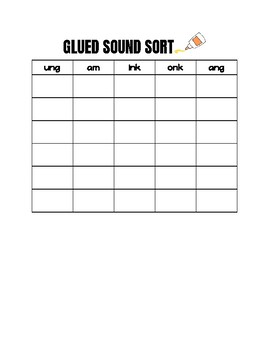 Glued Sounds sort