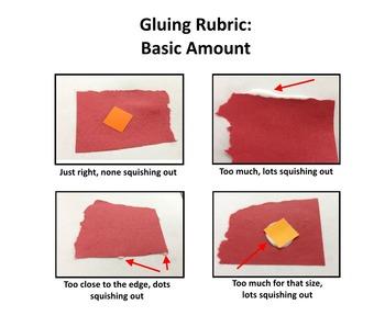 Gluing Amounts Rubric