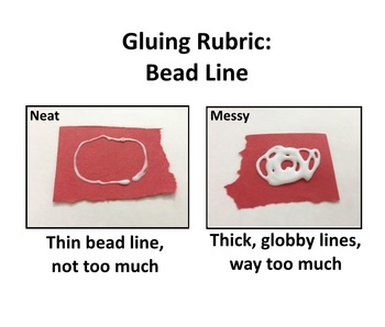 Gluing Rubric for Larger Pieces