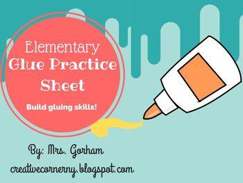 Gluing Skill Sheet