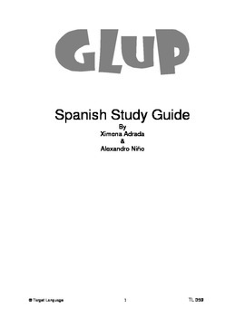 Glup-Spanish Study Guide