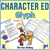 Character Education Glyph | Social-Emotional Traits | Anti Bullying