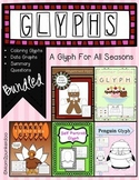 Glyphs For All Seasons Gingerbread, Turkey, Penguin, Sprin