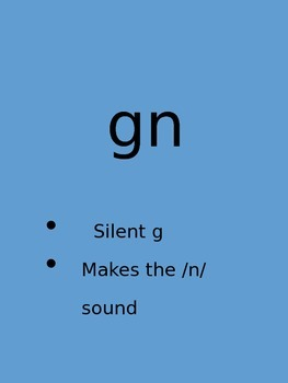 Gn Silent Letter PowerPoint