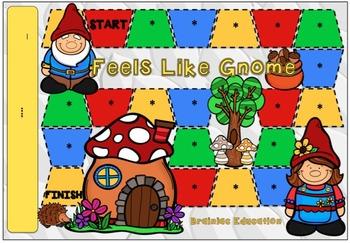 Gnome Blank Board Game (EDITABLE)