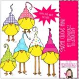 Gnome Chicks clip art - MIni - by Melonheadz Clipart