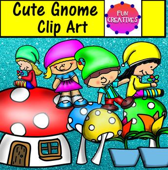 Gnome Clip Art-Fun Creatives