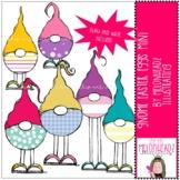 Gnome Easter Eggs clip art - Mini - by Melonheadz Clipart