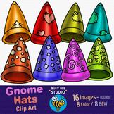 Gnome Hats Clip Art