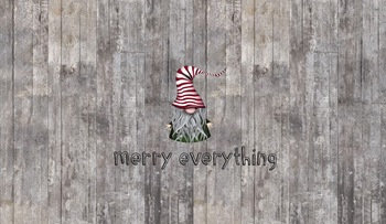 Merry Everything Holiday Desktop Background