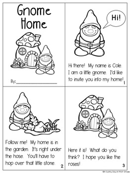 Gnome Home {long o, magic e activity pack!}