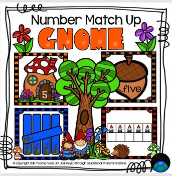 Gnome Number Match Up