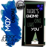 Gnome One Like You May Day Door Gnome Bulletin Board Spring